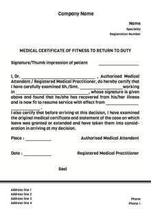 Medical certificate sample oloschurchtp sample of medical certificate for school image collections medical fitness certificate format for school students images yelopaper Choice Image