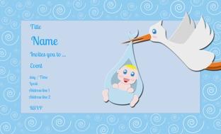 Customized baby showergodh bharai invitation cards online printvenue design by printvenue stopboris Images