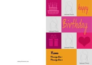 Create Customized Birthday Greeting Cards Online
