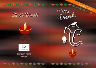 Customized diwali greeting cards online printvenue singapore m4hsunfo