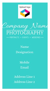 Customized vertical business card professional business card online design by printvenue reheart Image collections