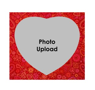 Love Photo Frame Buy Customized Heart Shaped Picture Frame Online